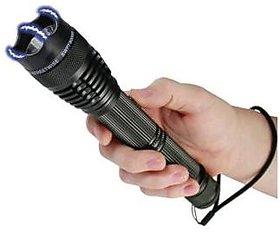 Kudos Self Defense - Stun Gun with Flashlight Torch Women safety - Car / Bike Safety Product