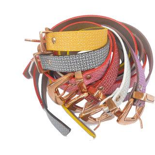 GCI Ladies Parrty Belt (BL-045) Set Of 6 Exclusive Offer