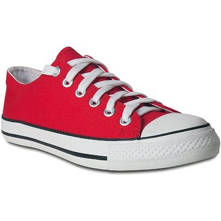 Romanfox Men'S Red Snakers
