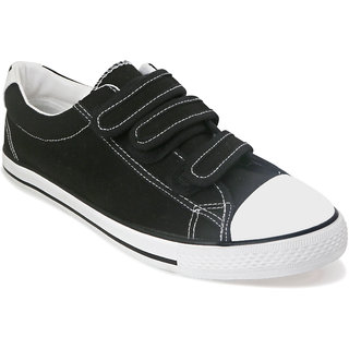 Romanfox Men'S Black Snakers