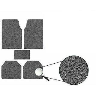 Generic Anti Slip Noodle Car Floor Mats SET OF 5 Grey  For Mahindra Verito