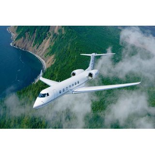 Avikalp Exclusive AZOHP2692 Gulfstream G550 Airplane Aviation Aircraft Full HD Poster Latest Best New 3D Look Beautiful
