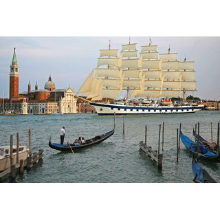 Avikalp Exclusive AZOHP2963 Royal Clipper Venice Full HD Poster Latest Best New 3D Look Beautiful
