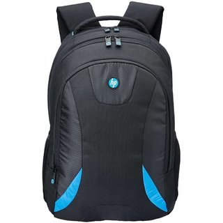 HP 15.6 Black  Blue Laptop Backpack