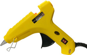 Geetanjali Decor GLUN HL-D 60W Hot Melt Standard Temperature Yellow Glue Gun (15 glue sticks)