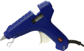 Geetanjali Decor GLUN HL-D 60W Hot Melt Standard Temperature Blue Glue Gun (5 glue sticks)