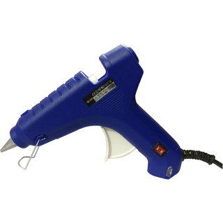 Geetanjali Decor GLUN HL-D 60W Hot Melt Standard Temperature Blue Glue Gun (5 glue sticks)