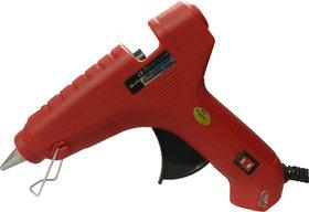Geetanjali Decor GLUN HL-D 60W Hot Melt Standard Temperature Red Glue Gun (5 glue sticks)