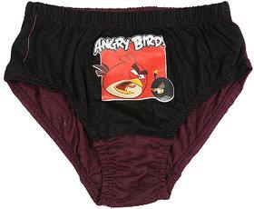 Boys Angry Bird Printed Panties Pack Of 3