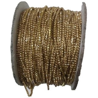 Gold Color Stone Lace Ideal For Jewellery Making
