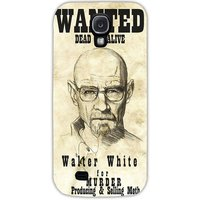 Snoogg Wanted Dead Or Alive Breaking Bad Case Cover For Samsung Galaxy S4