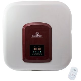 Kalptree - Quartz 25 Liters - Water Heater / Geyser (Off-White - Red)