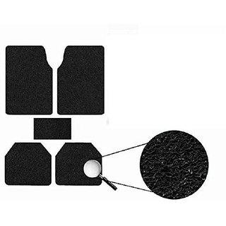 Generic Anti Slip Noodle Car Floor Mats SET OF 5 Black  For Tata Indigo