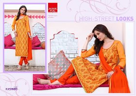 Yellow Embroidery Suit (Unstitched)