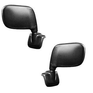 Generic Car Manual Side Rear View Mirror Assembly SET OF 2-Maruti Estilo old