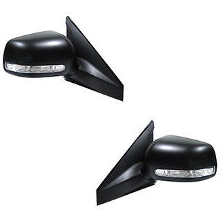 Generic Car Motorized Side Rear Mirror Assembly SET OF 2-Maruti Swift 2012