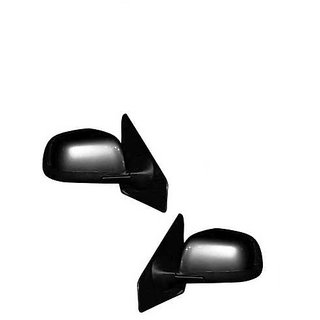Generic Car Basic Side Rear View Mirror Assembly SET OF 2-Mahindra Verito LXI