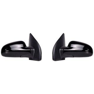 Generic Car Basic Side Rear View Mirror Assembly SET OF 2-Maruti Zen VXI