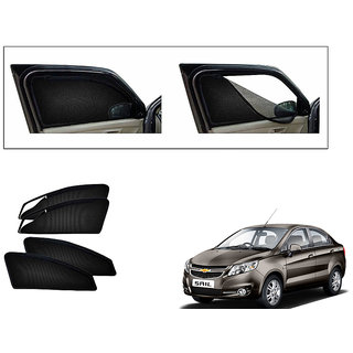 Generic Magnetic Zipper Curtain Car Sunshades Set Of 4-Chevrolet Sail