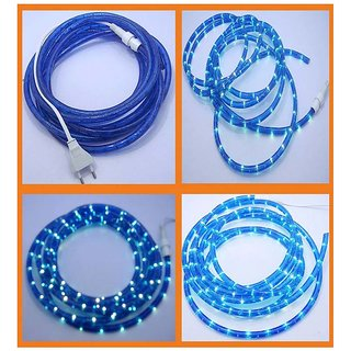 PN 15 Meter Led Rope Blue Decorative Lights For Diwali, Navratra And Christmas Decorations