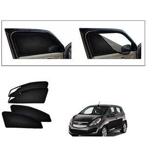 Generic Magnetic Zipper Curtain Car Sunshades Set Of 4-Chevrolet Spark