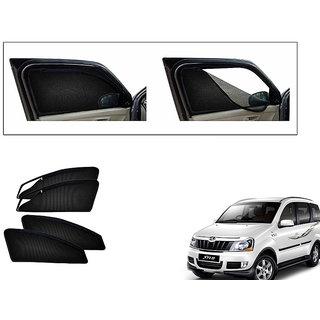 Generic Magnetic Zipper Curtain Car Sunshades Set Of 4-Mahindra Xylo