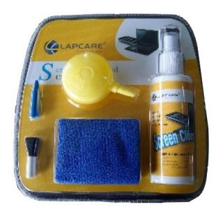 Lapcare 3 In 1 Screen Cleaning Kit with Blower Yellow