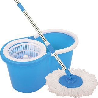 buy gtc 360 spin floor cleaning easy bucket pvc mop with 2