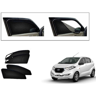 Generic Magnetic Zipper Curtain Car Sunshades Set Of 4-Datsun Redi GO