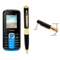 IKall K99 (Dual Sim, 1.8 Inch Display, 800 Mah Battery,