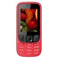 IKall K6303 RED Mobile Phone  2.4 InchDual Sim 1800mAh Battery (No Earphones)