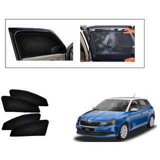 Generic Magnetic  Curtain Car Sunshades Set Of 4-Skoda Fabia