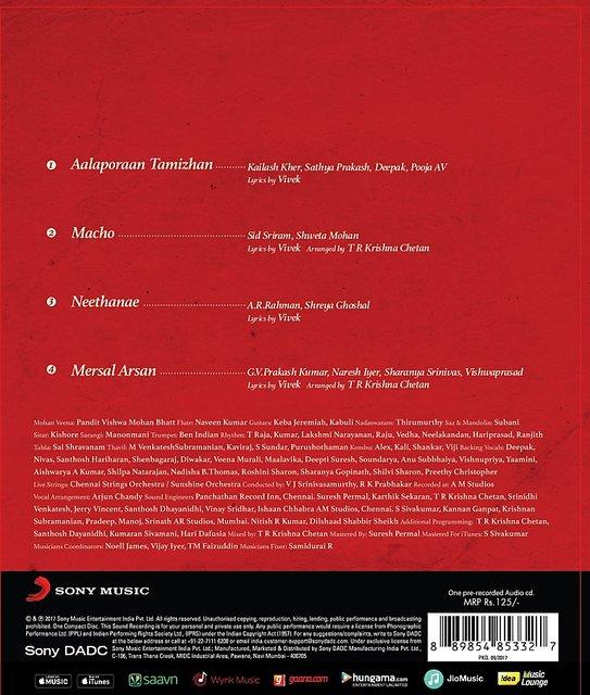 Mersal - Audio CD