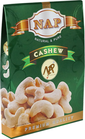 Nap Premium Quality Whole Cashew Nuts 250gm