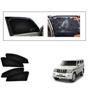 Generic Magnetic  Curtain Car Sunshades Set Of 4-Mahindra Bolero New Type 2