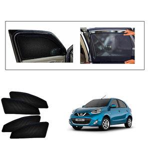 Generic Magnetic  Curtain Car Sunshades Set Of 4-Nissan Micra