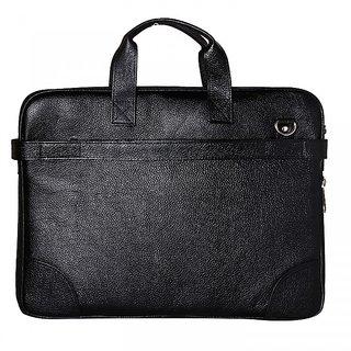 Buy RLE Genuine Leather Black Color Office cum Laptop Bag Online ... 13c0caefbe33f