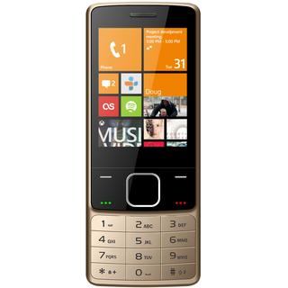 IKall K6300 (Dual Sim, 2.8 Inch Display, 1800 Mah Battery, Gold)