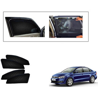 Generic Magnetic  Curtain Car Sunshades Set Of 4-Volkswagen Vento