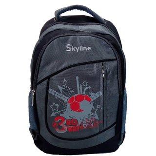 Skyline Unisex Laptop Backpack Bag-Grey-With Warranty-057