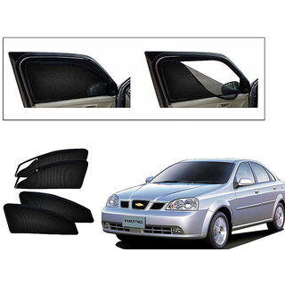 Generic Magnetic Zipper Curtain Car Sunshades Set Of 4-Chevrolet Optra