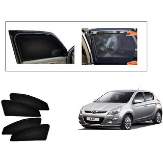 Generic Magnetic  Curtain Car Sunshades Set Of 4-Hyundai i20