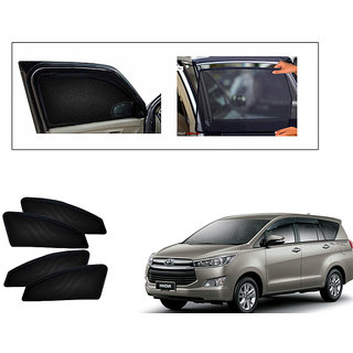 Generic Magnetic  Curtain Car Sunshades Set Of 4-Toyota Innova CrystA