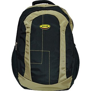 Newera Neo Stitch Casual 30 L Laptop Backpack         (Black, Brown)