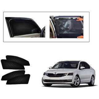Generic Magnetic  Curtain Car Sunshades Set Of 4-Skoda Octavia