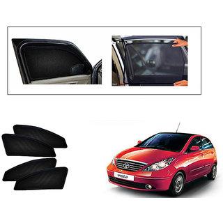 Generic Magnetic  Curtain Car Sunshades Set Of 4-Tata Indica Vista