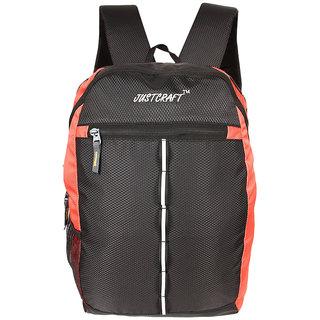 Justcraft Joyo Black and Red Laptop Bag