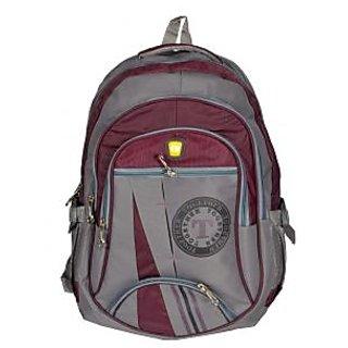 Together Brown Grey Backpack laptop Backpack CEAD1919