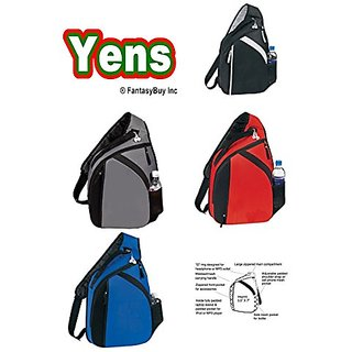 Fantasybag Cross Laptop Mono Strap Backpack-Black, 3BP-12