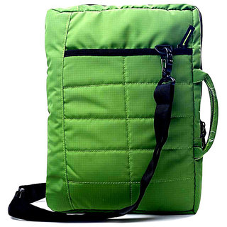 Sketches, Designer texturing 13 -16 Inch handle Sleeve for Laptops(Green)
